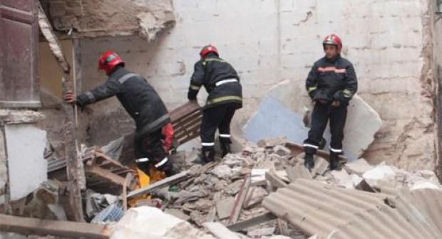 انهيار منزل يودي بحياة رجل ويتسبب في تيتيم 3 أبناء