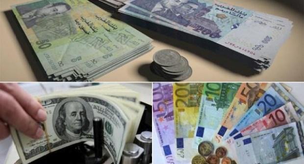 قيمة الدرهم ارتفعت مقابل الأورو والدولار بعد التعويم: