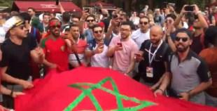 المغاربة متفائلين من قلب روسيا بفوز المنتخب الوطني على البرتغال
