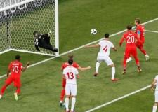 تونس تحقق المفاجأة وتجبر انجلترا على التعادل الإيجابي في الشوط الأول