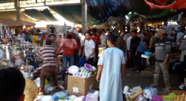 """""""مشرمل"""" يروع تجار سوق الأحد ويستنفر مصالح أمن أكادير"""