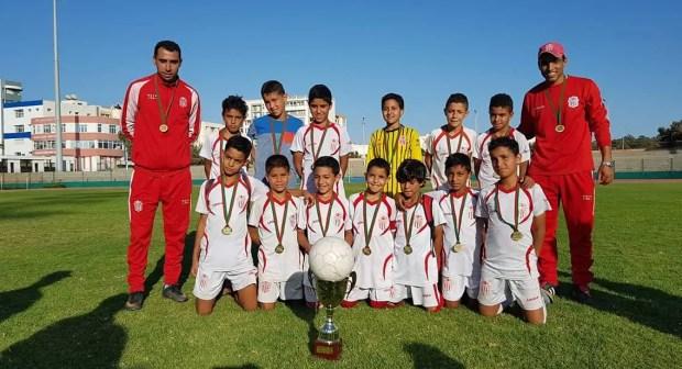 براعيم وكتاكيت حسنية أكادير تختتم الموسم الرياضي بتحقيق ألقاب كأس عصبة سوس لكرة القدم.