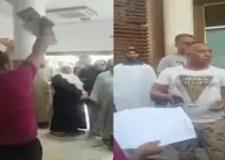 مواطن ينفجر غضبا على مصحة خاصة (فيديو)