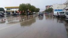 أمطار الخير تتهاطل على أكادير مصحوبة برعد قوي