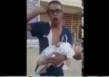 صادم : مواطن يتهم شرطيا بكسر ذراع ابنته الصغيرة