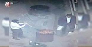 شاهد كيف تم إحراق أوراق داخل القنصلية السعودية في تركيا بعد مقتل خاشقجي