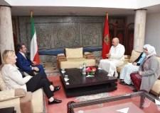 رئيس المجلس البلدي لأكادير يستقبل القنصل العام لإيطاليا بالمغرب، و الطرفان يتباحثان سبل تطوير العلاقات بين الطرفين