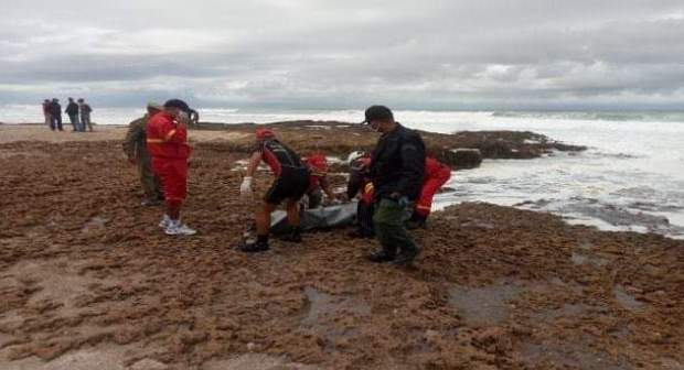 البحر يلفظ جثة رابعة من مفقودي فاجعة بومنصور بأكلو
