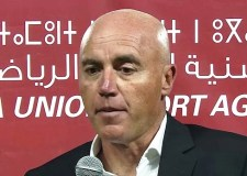 """مدرب حسنية أكادير يكشف عن وجهة نظره بعد الإعلان عن نتائج قرعة كأس """"الكاف""""."""