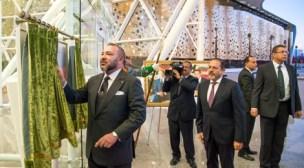 الملك يعطي انطلاقة الشروع في استغلال مركز جديد هام بأكادير.