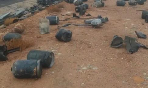 """عاجل: قنينات الغاز تتطاير في الطريق السيار أكادير مراكش إثر إنفجار شاحنة """"البوطا""""+""""صور"""""""