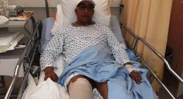 إجراء عملية جراحية ناجحة لنجم حسنية أكادير السابق بأحد المستشفيات الفنلندية.