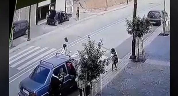 """إمزورن يوم أمس… دهس طفلة صغيرة كانت خارجة من المدرسة من طرف سيارة """"هوندا"""""""