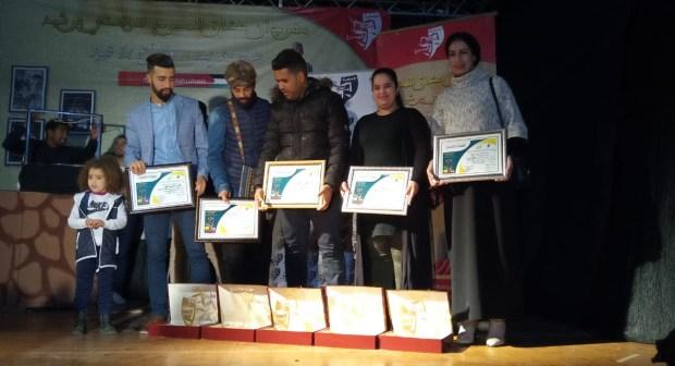 منتدى أنفاس أولاد تايمة يتوج بالجائزة الكبرى لمهرجان عشاق المسرح ببرشيد .