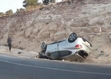 فاجعة بالفيديو: وفاة سائق في حادث انقلاب مروع لسيارة بالطريق السيار.