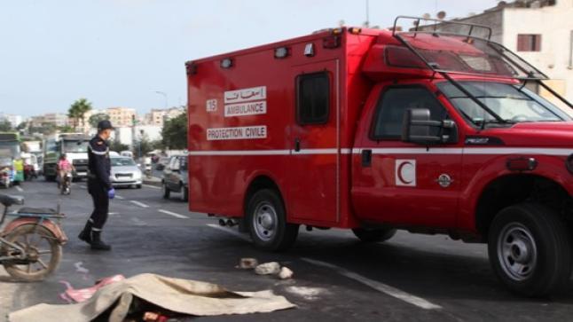 طلبة من منظمة التجديد الطلابي يتعرضون لحادث سير مروع