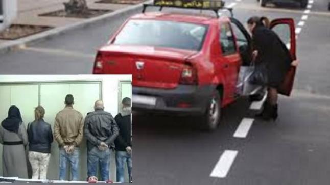 إنزكان: توقيف عصابة متخصصة في اصطناع حوادث السير وابتزاز سائقي الطاكسيات