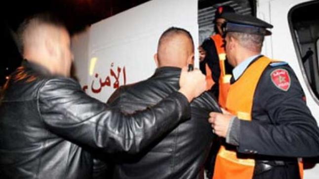 إنزكان: مجرمون يقعون في قبضة رجال الشرطة،ويحالون على النيابة العامة