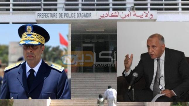 المالوكي والحموشي ينفيان مزاعم الخلاف حول رخصة بناء مقر ولاية الأمن بأكادير