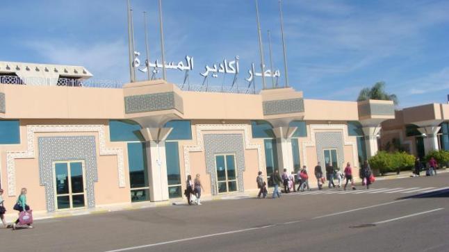 مليون و300 ألف مسافر تنقلوا عبر مطار المسيرة أكادير في 2016