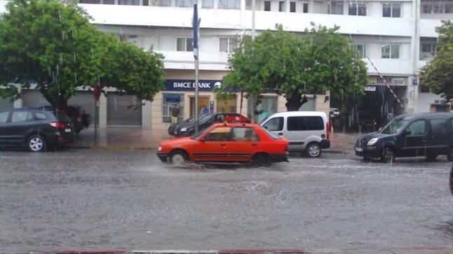 مقاييس التساقطات المطرية المسجلة بأكادير وتيزنيت