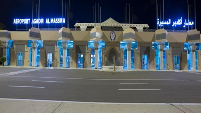 انخفاض حركة المسافرين بمطار أكادير المسيرة بنسبة 81 في المائة