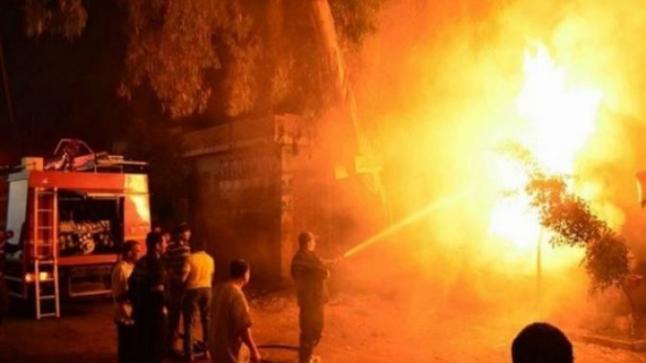 النيران تلتهم مركزا للتدليك وسط أكادير
