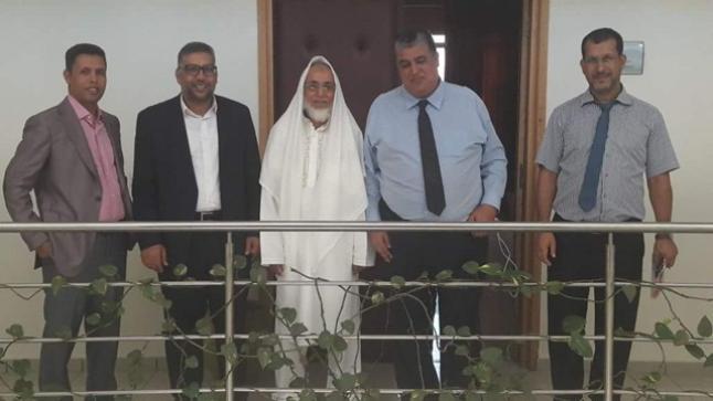 جلسة عمل بأكادير لمتابعة مشروع مركز البحث الجامعي ابن زهر بآسا