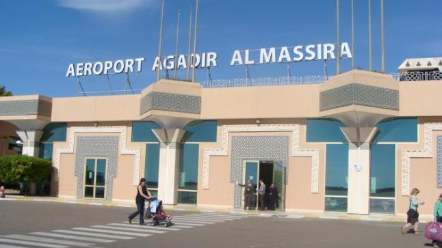 ارتفاع عدد المسافرين الذين استعملوا مطار المسيرة أكادير