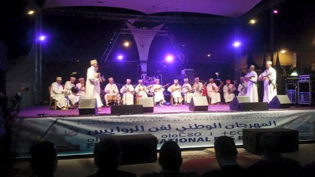 الدشيرة تحتضن المهرجان الوطني لفن الروايس