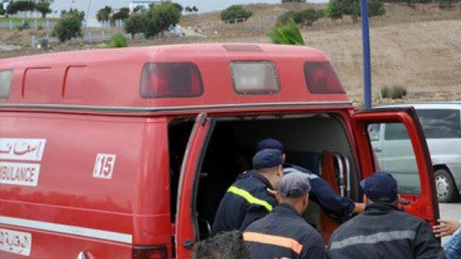 مقتل أب وابنه في حادثة سير خطيرة بأولاد تايمة