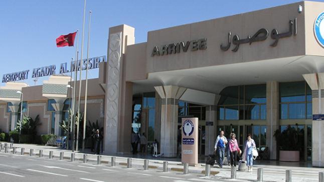 تراجع عدد المسافرين الذين استعملوا مطار أكادير المسيرة سنة 2020