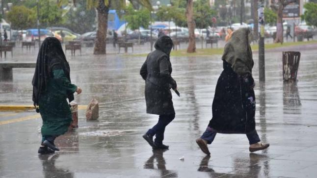 أمطار رعدية ببعض مناطق المملكة في طقس يوم الأربعاء