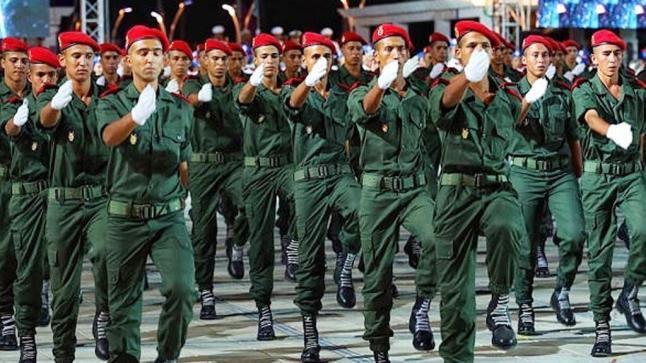 الجيش المغربي يبدأ الإثنين اختيار أول دفعة للتجنيد الإجباري