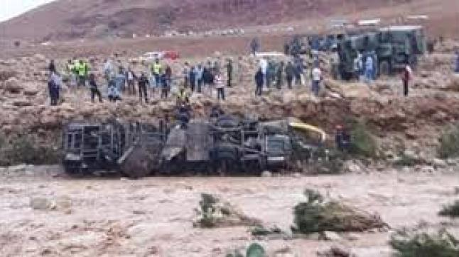 مرة أخرى.. قتلى ومفقودين في انقلاب حافلة لنقل المسافرين بسبب فيضان نهر