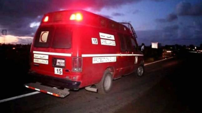 مؤلم .. اصطدام عنيف بين سيارتين خفيفتين شمال أكادير