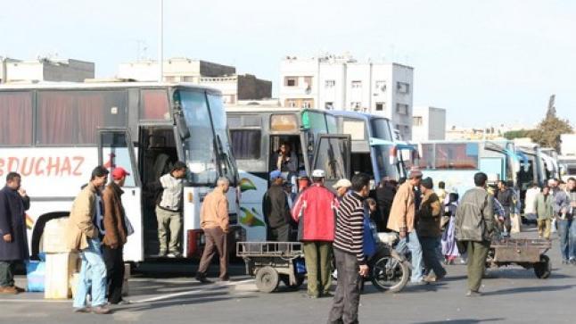 الداخلية تقرر توقيف حركة تنقل المسافرين بين المدن ابتداء من يوم الثلاثاء المقبل