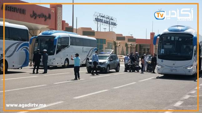 أزيد من 29 ألف مسافر تنقلوا عبر مطار أكادير المسيرة خلال شهر واحد