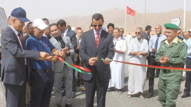 تدشين مشاريع تنموية في إقليم طاطا بمناسبة الذكرى 21 لعيد العرش