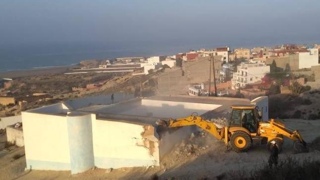 هدم مسجد عتيق ضواحي أكادير يغضب الساكنة