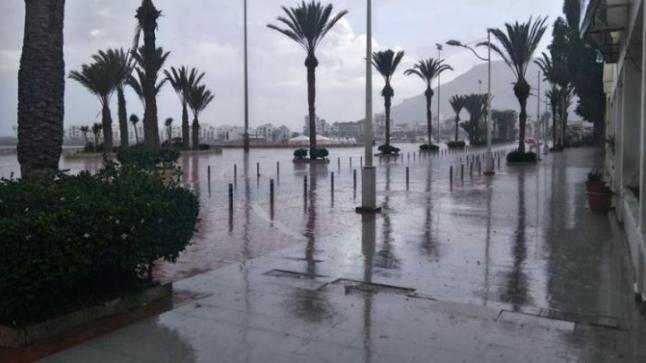 مقاييس التساقطات المطرية المسجلة بمناطق سوس ماسة خلال الـ24 ساعة الماضية