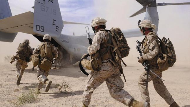 انطلاق التدريبات العسكرية المغربية الأمريكيةبأكادير