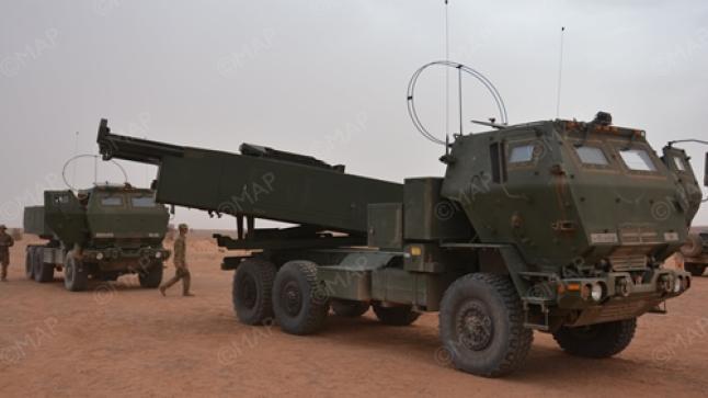 تواصل التدريبات العسكرية المغربية الأمريكية تحت مراقبة مركز العمليات بأكادير