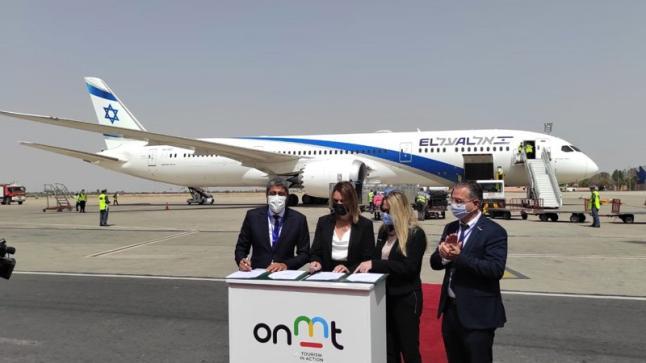وصول أولى الرحلات الجوية السياحية القادمة من إسرئيل إلى المغرب