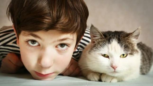 الحيوانات الأليفة وتأثيرها الإيجابي على الأطفال