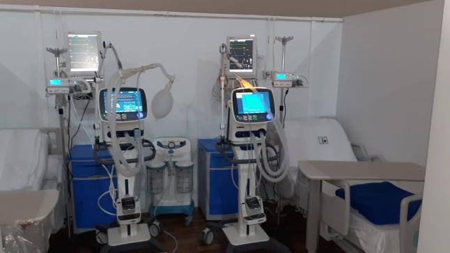 تدشين المستشفى الميداني الخاص بكورونا بالعيون (صور)