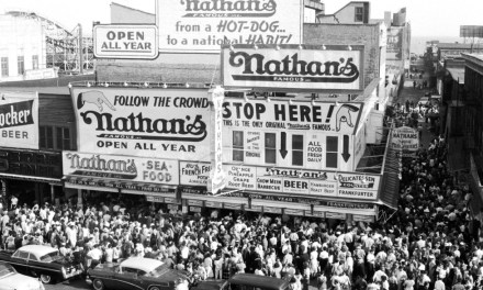 ATG Quirkies: It's All About the Books in This Nathan's Hot Dog Competition