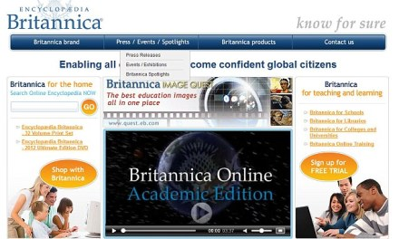 """ATG """"I Wonder"""" Wednesday: Does your library subscribe to the online Encyclopedia Britannica?"""