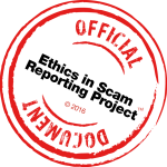 Official Ethics in Scam Reporting Committee Document