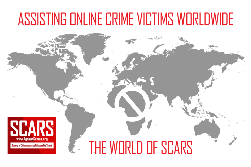 SCARS - Assisting Romance Scams And Online Crime Victims Worldwide